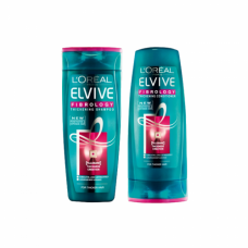 L'Oreal Elvive Fibrology Shampoo & Conditioner 400ml